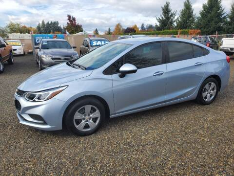 2017 Chevrolet Cruze for sale at McMinnville Auto Sales LLC in Mcminnville OR