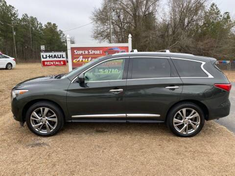 2013 Infiniti JX35 for sale at Super Sport Auto Sales in Hope Mills NC