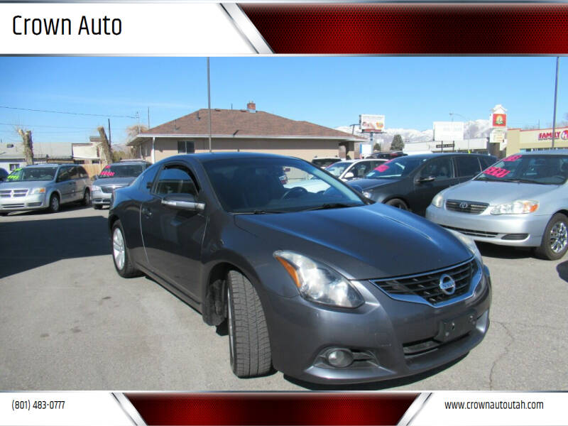2012 Nissan Altima for sale at Crown Auto in South Salt Lake City UT