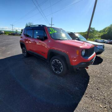 2015 Jeep Renegade for sale at ALL WHEELS DRIVEN in Wellsboro PA