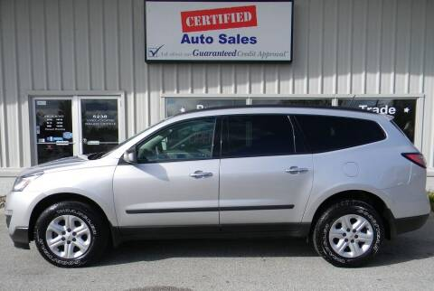 2017 Chevrolet Traverse for sale at Certified Auto Sales in Des Moines IA