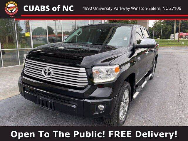 2016 Toyota Tundra for sale at Summit Credit Union Auto Buying Service in Winston Salem NC