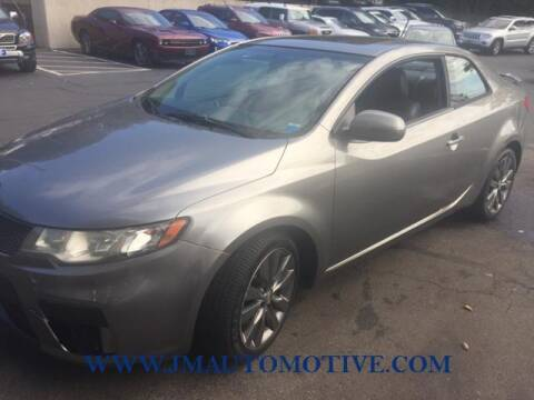 2012 Kia Forte Koup for sale at J & M Automotive in Naugatuck CT