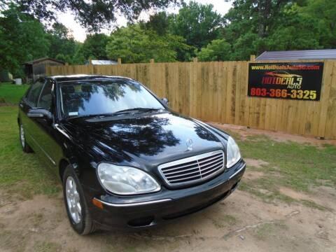 2000 Mercedes-Benz S-Class for sale at Hot Deals Auto LLC in Rock Hill SC
