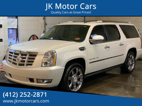 2011 Cadillac Escalade ESV for sale at JK Motor Cars in Pittsburgh PA