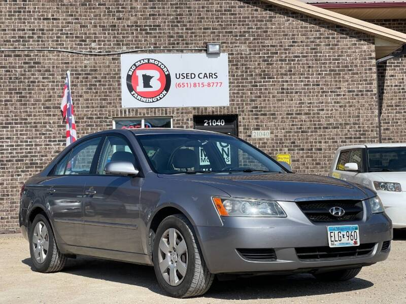 2008 Hyundai Sonata for sale at Big Man Motors in Farmington MN