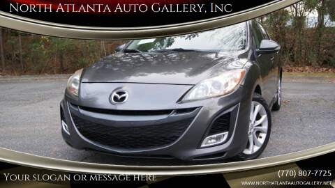 2010 Mazda MAZDA3 for sale at North Atlanta Auto Gallery, Inc in Alpharetta GA