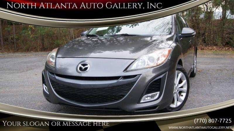 2010 Mazda MAZDA3 for sale at North Atlanta Auto Gallery, Inc in Alpharetta GA