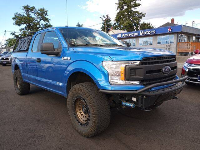 2019 Ford F-150 for sale at All American Motors in Tacoma WA
