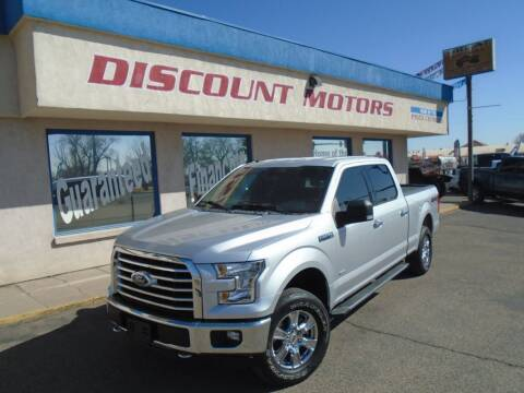 2016 Ford F-150 for sale at Discount Motors in Pueblo CO