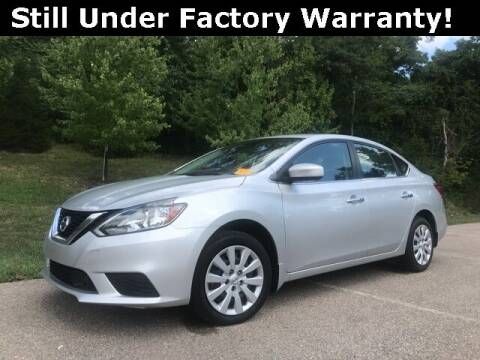 2019 Nissan Sentra for sale at Mark Sweeney Buick GMC in Cincinnati OH