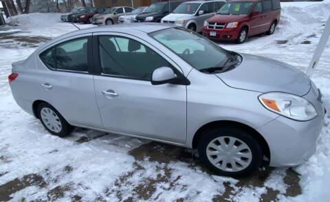 2013 Nissan Versa for sale at Sunrise Auto Sales in Stacy MN