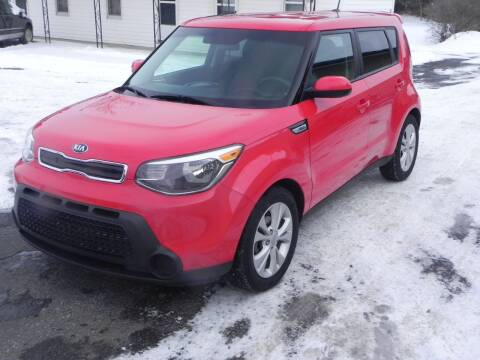 2015 Kia Soul for sale at Thompson Car Company in Bad Axe MI