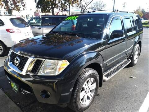 2010 Nissan Pathfinder for sale at Oak Hill Auto Sales of Wooster, LLC in Wooster OH