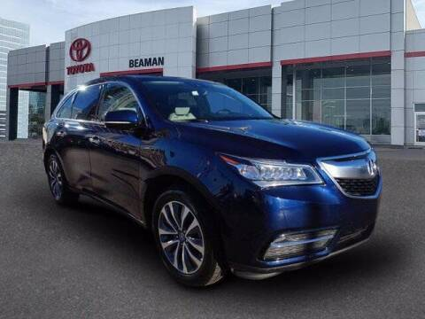 2016 Acura MDX for sale at BEAMAN TOYOTA in Nashville TN
