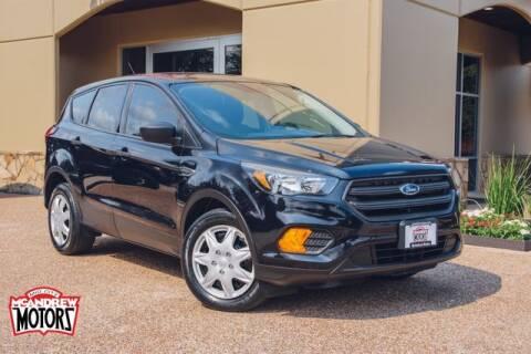 2019 Ford Escape for sale at Mcandrew Motors in Arlington TX