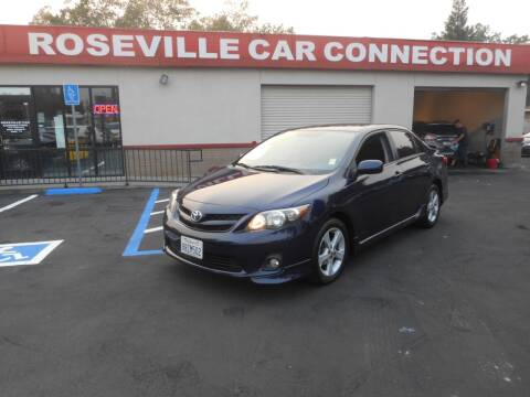 2013 Toyota Corolla for sale at ROSEVILLE CAR CONNECTION in Roseville CA