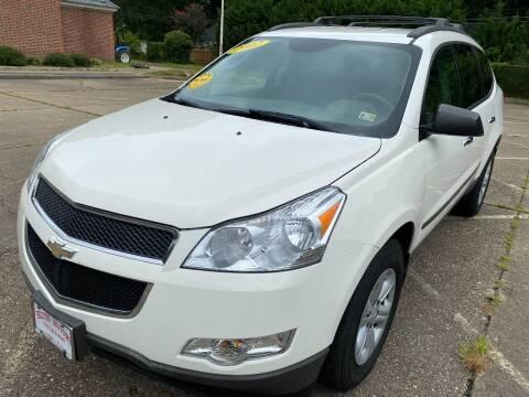 2012 Chevrolet Traverse for sale at Hilton Motors Inc. in Newport News VA