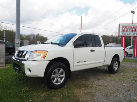 2011 Nissan Titan for sale at Patriot Motors in Cortland OH
