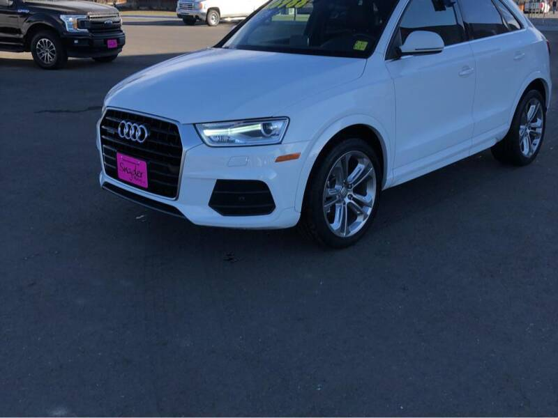 2017 Audi Q3 for sale at Snyder Motors Inc in Bozeman MT