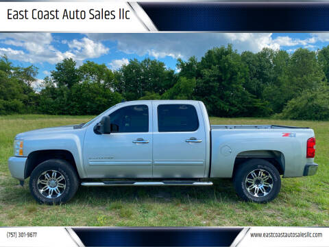 2010 Chevrolet Silverado 1500 for sale at East Coast Auto Sales llc in Virginia Beach VA