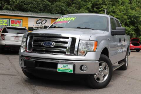 2012 Ford F-150 for sale at Go Auto Sales in Gainesville GA