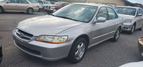 1999 Honda Accord for sale at AUTO NETWORK LLC in Petersburg VA