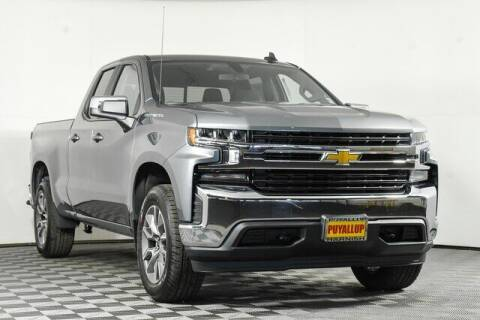 2021 Chevrolet Silverado 1500 for sale at Washington Auto Credit in Puyallup WA