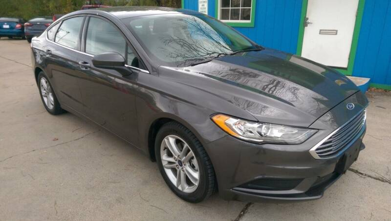2018 Ford Fusion for sale in Arlington, TX