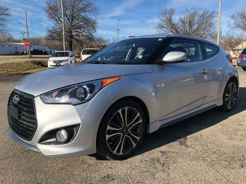 2017 Hyundai Veloster Turbo for sale at 9-5 AUTO in Topeka KS
