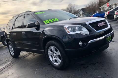 2011 GMC Acadia for sale at Island Auto in Grand Island NE
