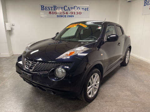 2011 Nissan JUKE for sale at Best Buy Car Co in Independence MO