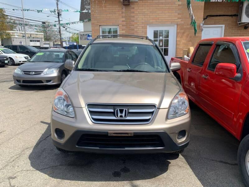 2006 Honda CR-V for sale at Park Avenue Auto Lot Inc in Linden NJ