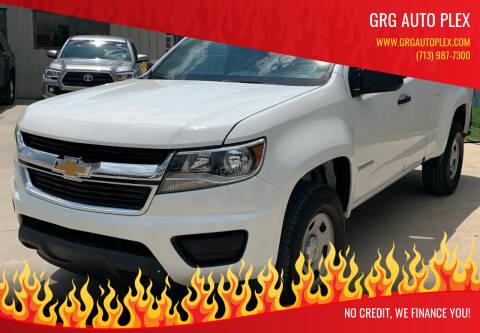 2018 Chevrolet Colorado for sale at GRG Auto Plex in Houston TX