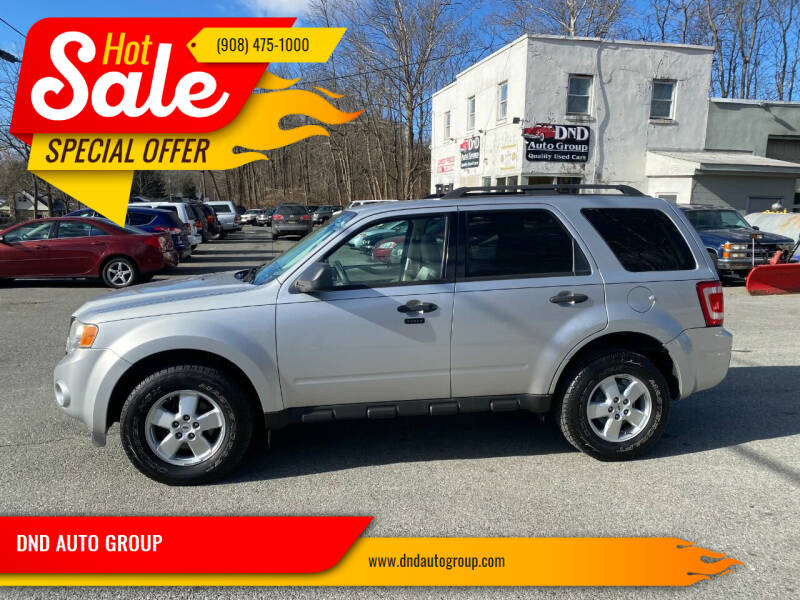 2010 Ford Escape for sale at DND AUTO GROUP in Belvidere NJ