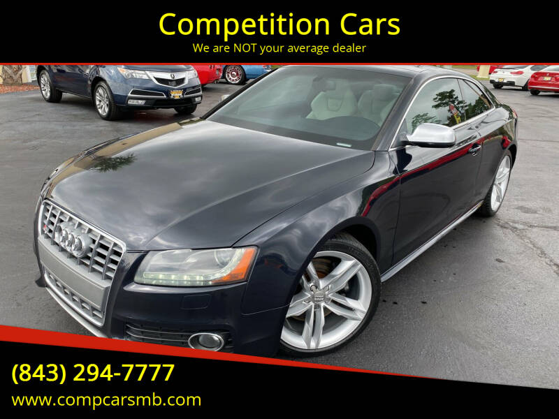 2012 Audi S5 for sale at Competition Cars in Myrtle Beach SC
