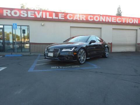 2012 Audi A7 for sale at ROSEVILLE CAR CONNECTION in Roseville CA