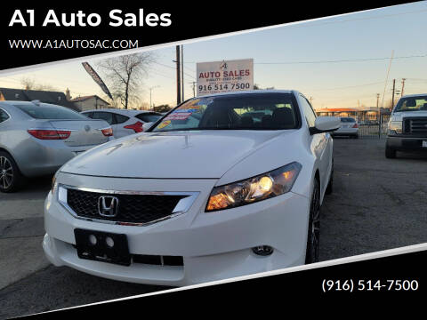 2009 Honda Accord for sale at A1 Auto Sales in Sacramento CA