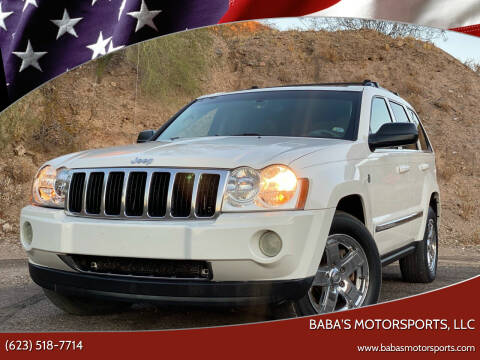 2005 Jeep Grand Cherokee for sale at Baba's Motorsports, LLC in Phoenix AZ
