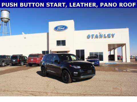 2019 Land Rover Discovery Sport for sale at STANLEY FORD ANDREWS in Andrews TX