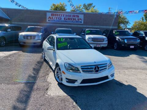 2012 Mercedes-Benz C-Class for sale at Brothers Auto Group in Youngstown OH