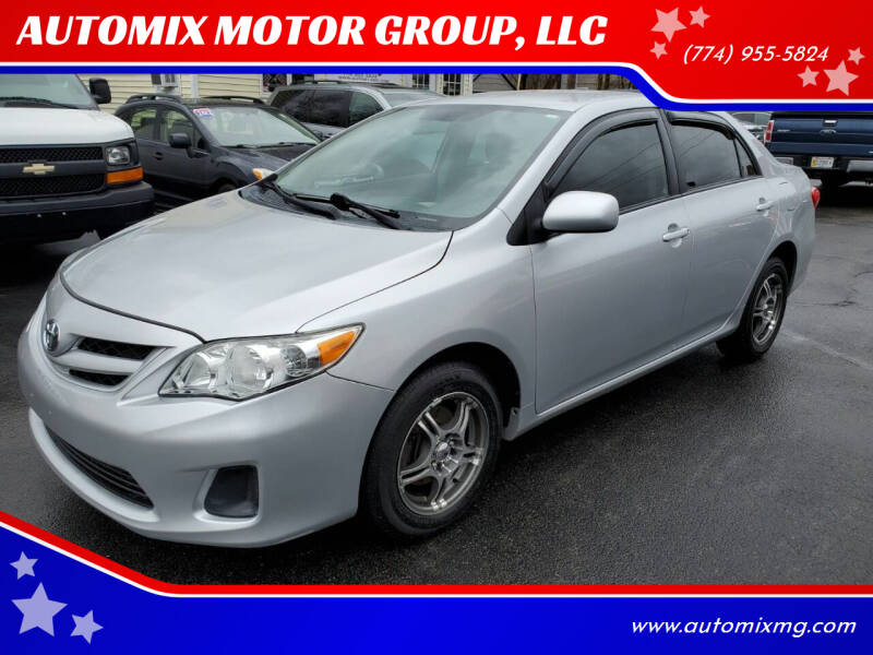 2011 Toyota Corolla for sale at AUTOMIX MOTOR GROUP, LLC in Swansea MA