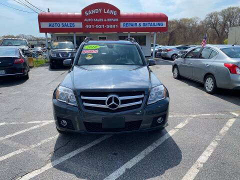 2010 Mercedes-Benz GLK for sale at Sandy Lane Auto Sales and Repair in Warwick RI