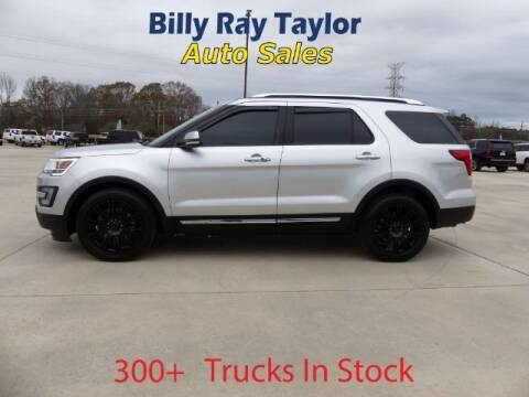 2017 Ford Explorer for sale at Billy Ray Taylor Auto Sales in Cullman AL