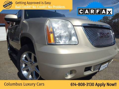 2008 GMC Yukon for sale at Columbus Luxury Cars in Columbus OH