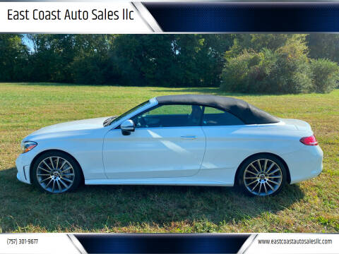 2019 Mercedes-Benz C-Class for sale at East Coast Auto Sales llc in Virginia Beach VA