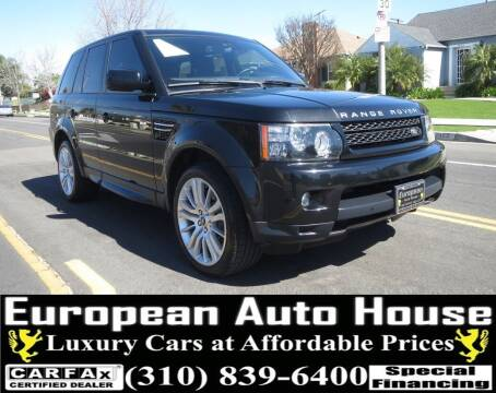 2013 Land Rover Range Rover Sport for sale at European Auto House in Los Angeles CA