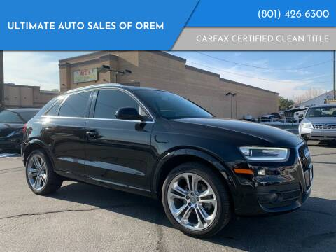 2015 Audi Q3 for sale at Ultimate Auto Sales Of Orem in Orem UT