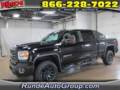 2019 GMC Sierra 2500HD for sale at Runde Chevrolet in East Dubuque IL