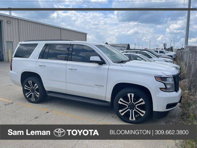 2015 Chevrolet Tahoe for sale at Sam Leman Toyota Bloomington in Bloomington IL